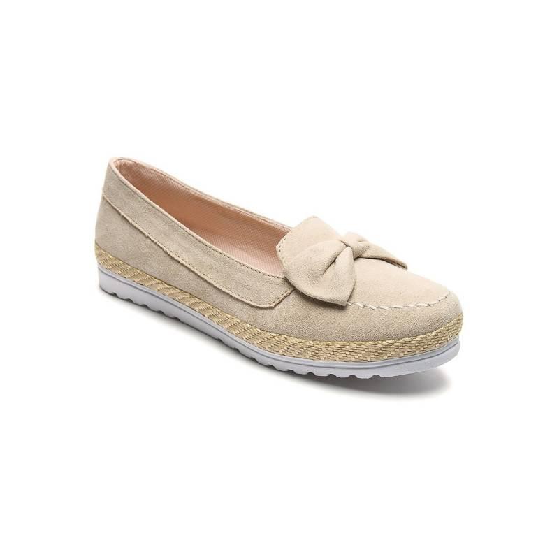 Tellenzi - Zapato dama beige Tellenzi e39