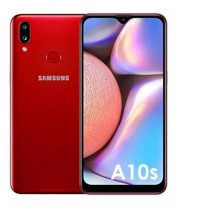 Samsung - Celular Samsung a10s rojo