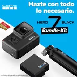GoPro - GoPro H7 Black Holiday Bundle 12MP