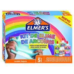 ELMER´S - Kit para hacer slime elmer's arcoíris