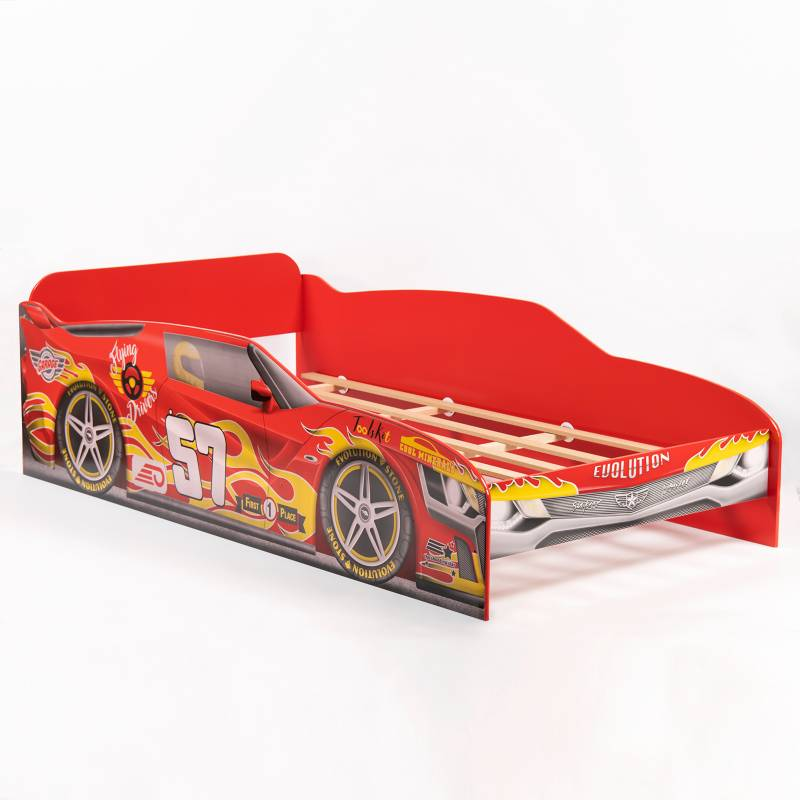 Mica Kids - Cama Evolution Carro Rojo