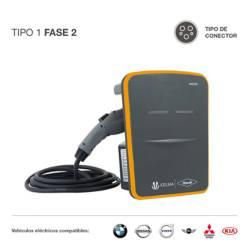 Cargador para vehículos eléctricos T1 F2