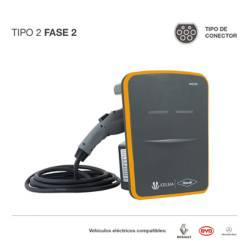 Cargador para vehículos eléctricos T2 F2