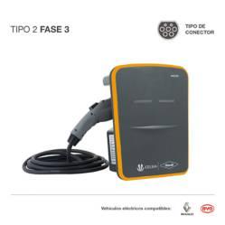 Cargador para vehículos eléctricos T2 F3