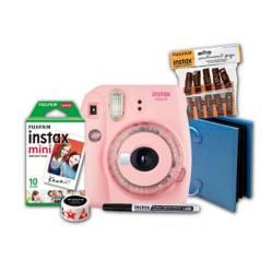 Kit Cámara Instantánea Fujifilm Mini 9 + Papel x10 + clip de sentimientos