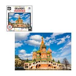 Toyng - Rompecabezas 1000 Piezas Ciudades Mundo Moscú
