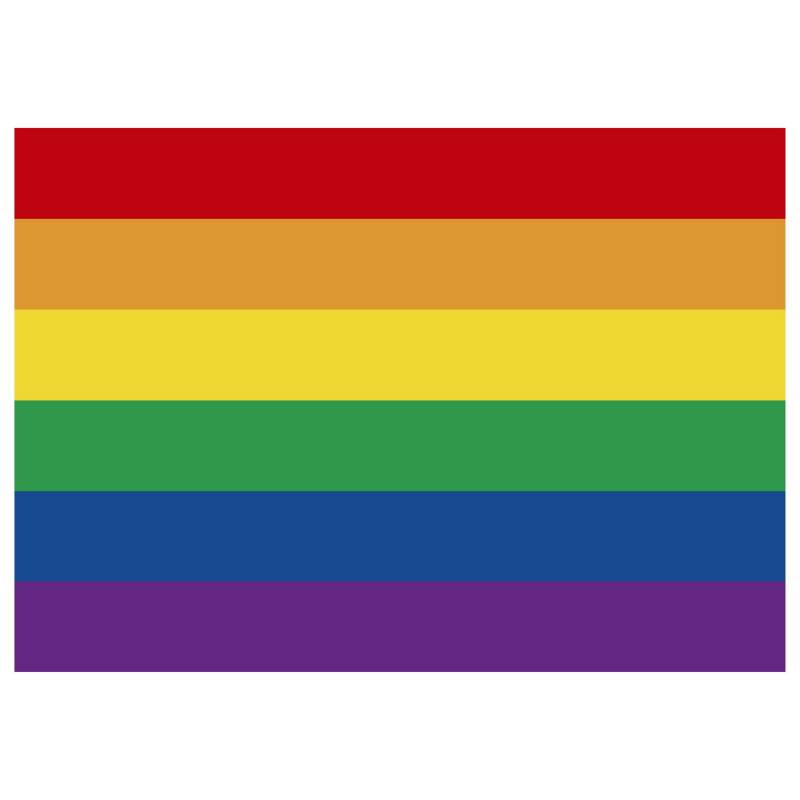 Mi fiesta - Individual pride colores por 8 unidades
