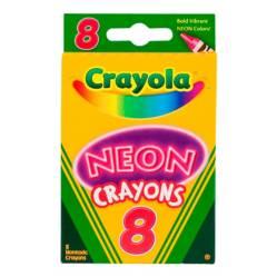 Crayola - Crayones Neón x8
