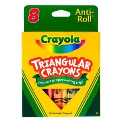 Crayola - Crayón Triangular x8 Surtido
