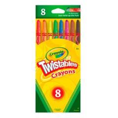 Crayola - Crayones Twistables x8