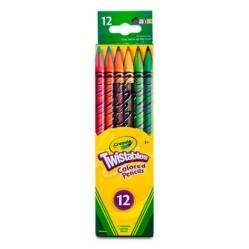 Crayola - Lápices de color Twistables x12