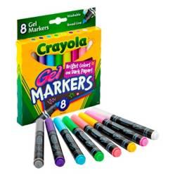 Crayola - Marcador x8 Superficies Os