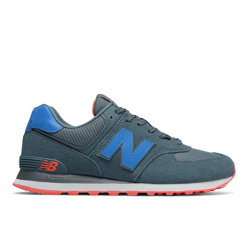 new balance 574 azul hombre