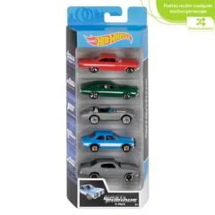 Hot wheels - Pack 5 Carros Hot Wheels Surtido