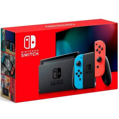 nintendo switch neón 2019