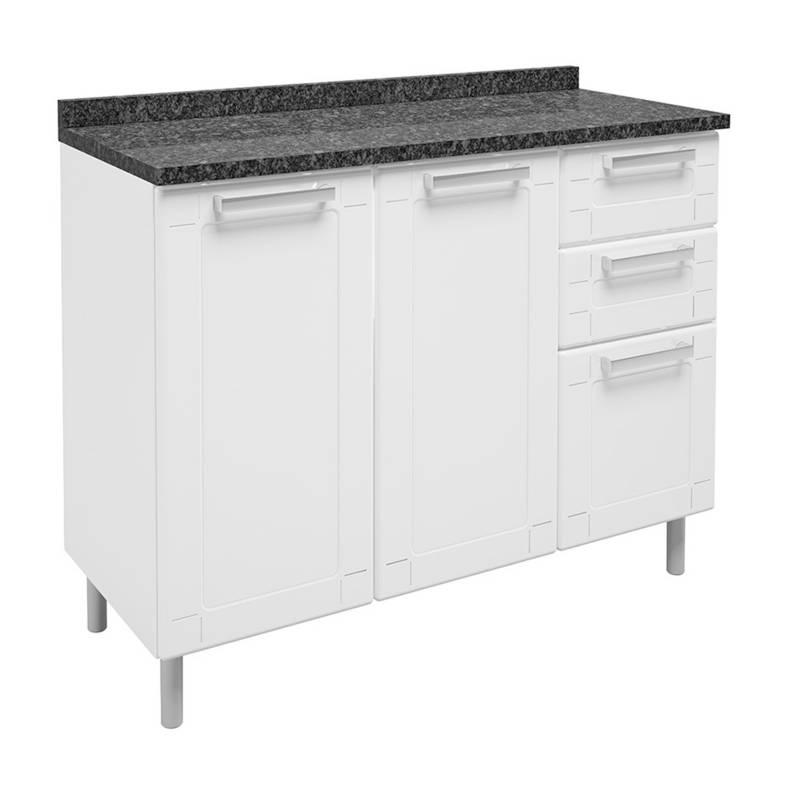 Bertolini - Mueble Inferior Multip Bertolini Blanco