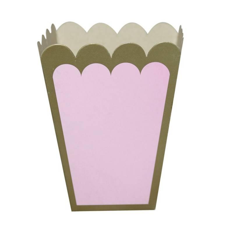 Mi fiesta - Porta maíz rosado pastel por 6 unidades