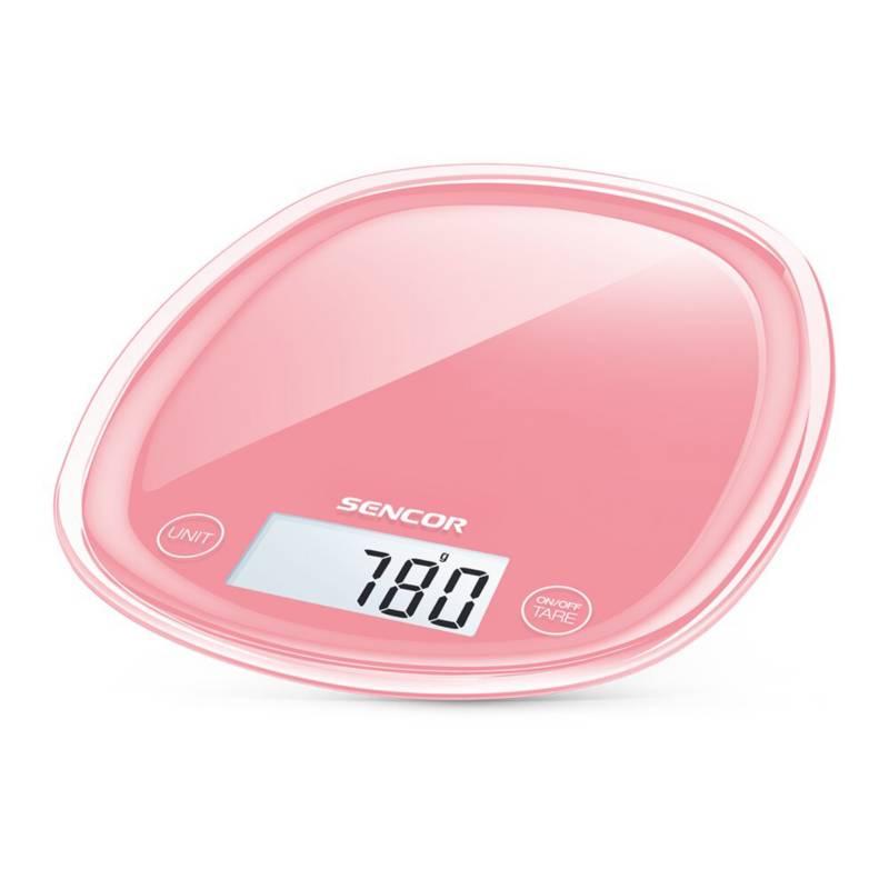 Sencor - Gramera de cocina digital sencor sks-34 rojo paste
