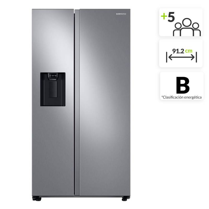 Samsung - Nevecón Samsung Side by Side 716 lt RS27T5200S9/CO