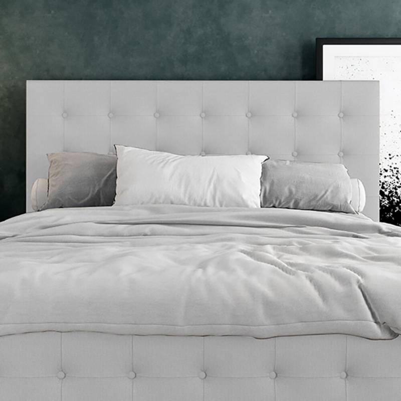 EKONOMODO - Combo capital espaldar + base cama 140 gr perla