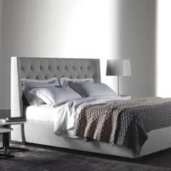EKONOMODO - Combo marfil espaldar+base cama 160 gr perla