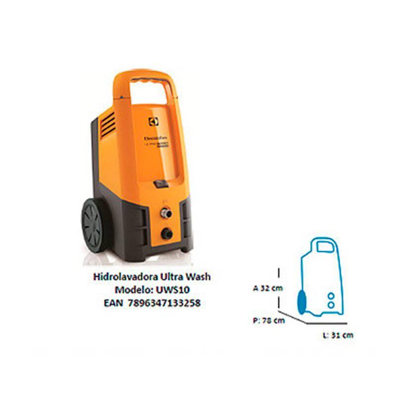 Electrolux - Hidrolavadora electrolux ultra wash 2500 psi