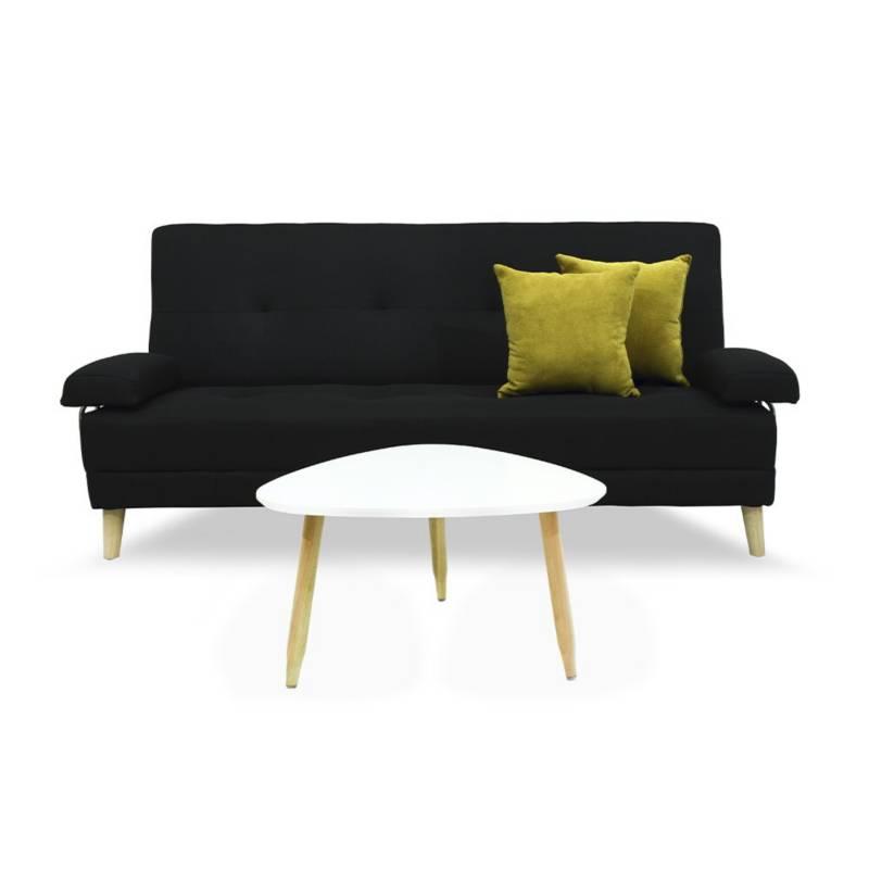 INDUSTRIAL BASESTILOS - Sofa cama ferrati + mesa y cojines