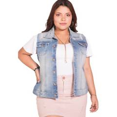 Pretty Much - Chaleco jeans mujer pretty much