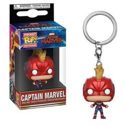 Funko Pop Llavero Capitana Marvel