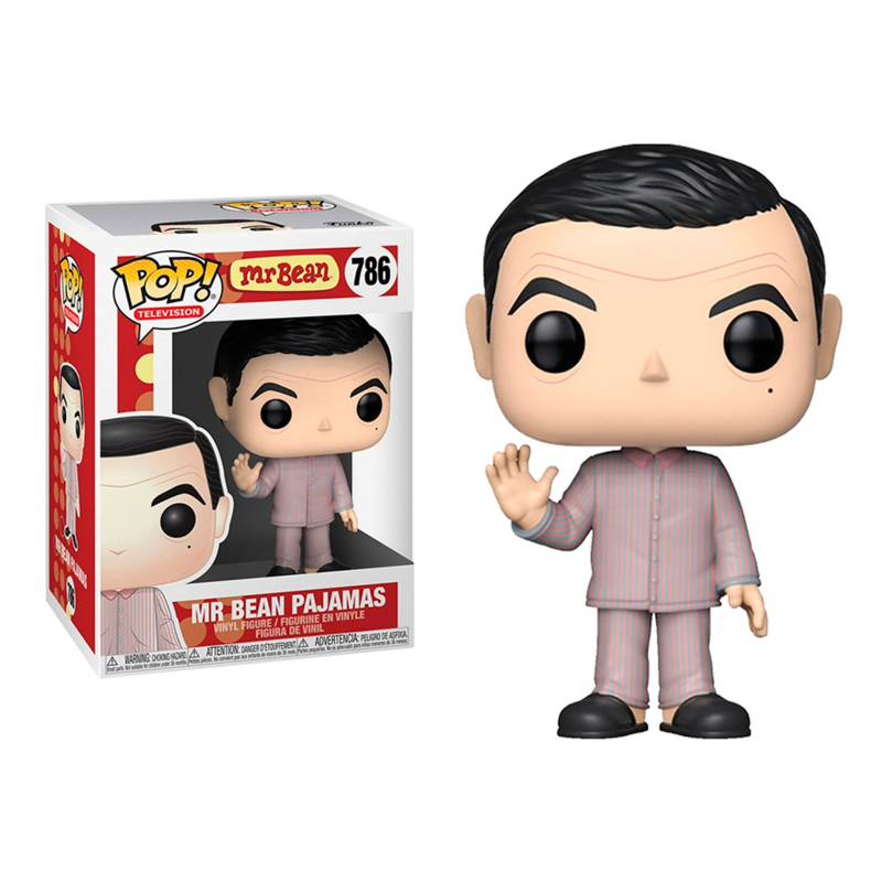 Funko - Funko Pop Tv Mr Bean En Pijama