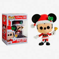 Funko - Funko Pop Mickey Navideño Campana