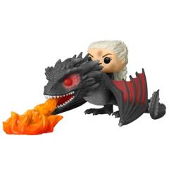 Funko - Funko Pop Daenerys Sobre Drogon