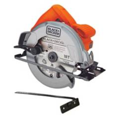 Black&Decker - Sierra circular black + decker 7-1/4 1400w 5300rpm