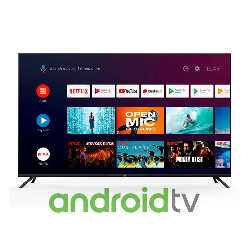JVC - Televisor JVC 65 pulgadas LED 4K Ultra HD Smart TV