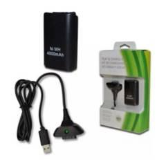 Danki - Xbox 360 Kit Carga Y Juega + 4800 Ni-Mh Cargador