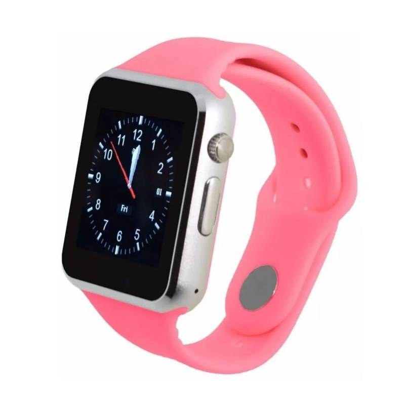 Danki - Reloj inteligente w101 smart watch sim card rosa