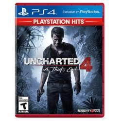 Scea - Uncharted 4Hits PS4