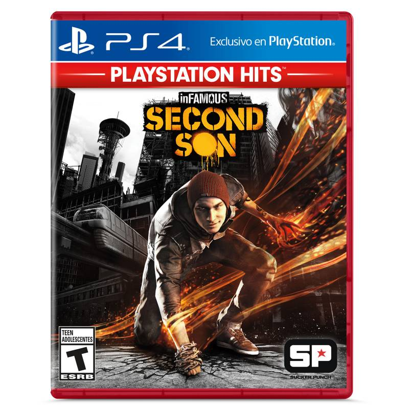 Scea - Infamous: Second Son - Hits PS4
