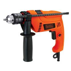Black&Decker - Taladro percutor 1/2 pg. 550w + set 13 brocas blac