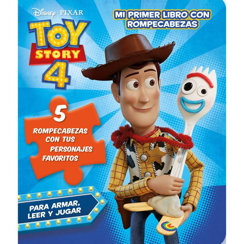 Grupo sin fronteras - Mi primer libro con rompecabezas toy story 4 - Autor Varios