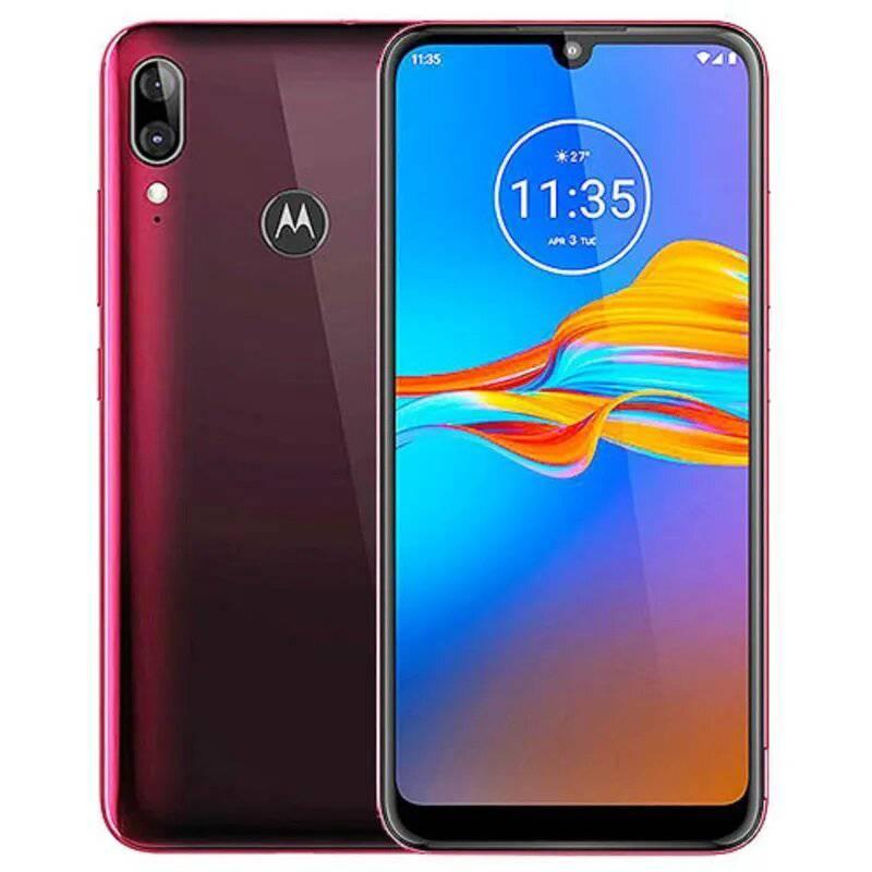 Motorola - Celular Motorola E6 Plus Arandano