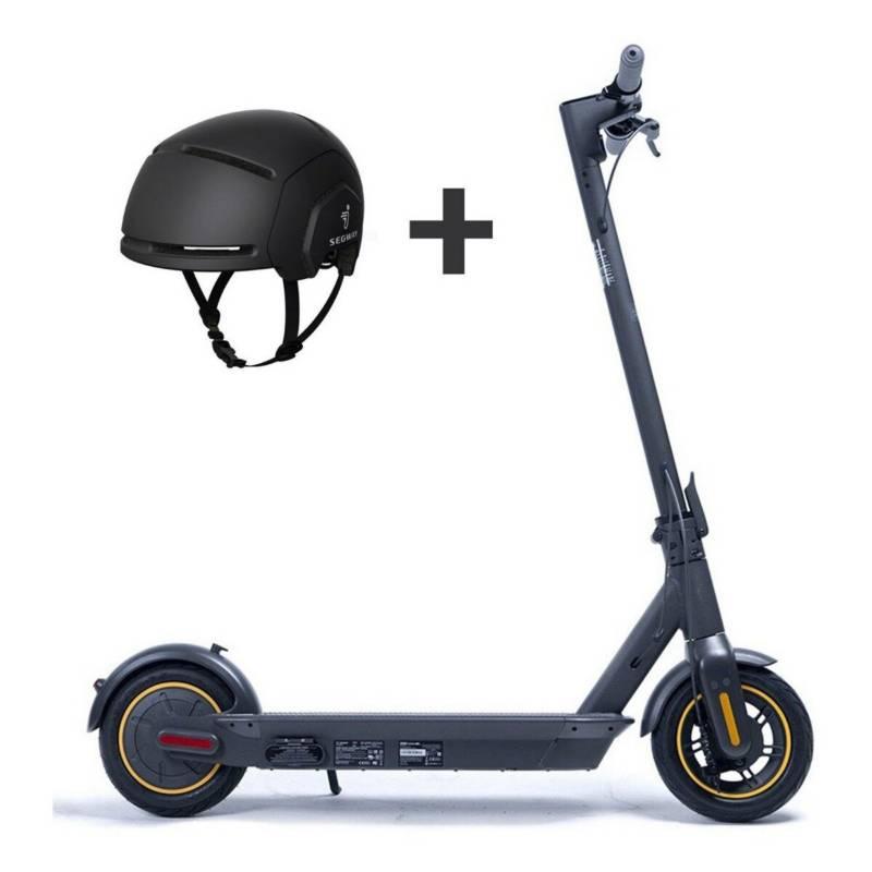 SEGWAY-NINEBOT - Scooter ninebot max + casco