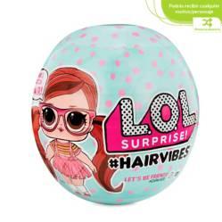 LOL Surprise - Lol Surprise Hairvibes Muñeca Pequeña Con 15 Sorpresas