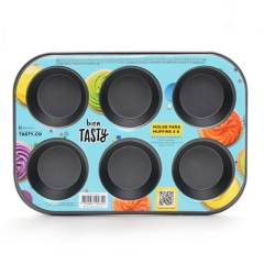 Tasty - Molde para Muffins x6