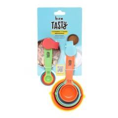 Tasty - Set x10 Cucharas y Tazas Medidoras