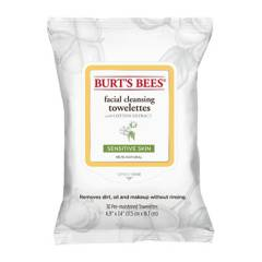 Burts Bees - Toallitas Desmaquillantes para Piel Sensible