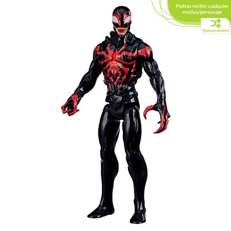 Spider-man - Figura de acción Aleatorias Max Venom Titan Ghost Spider