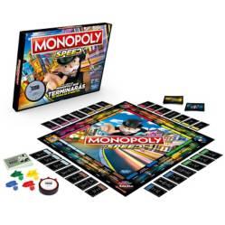 Hasbro Gaming - Juego de Mesa Monopoly Speed