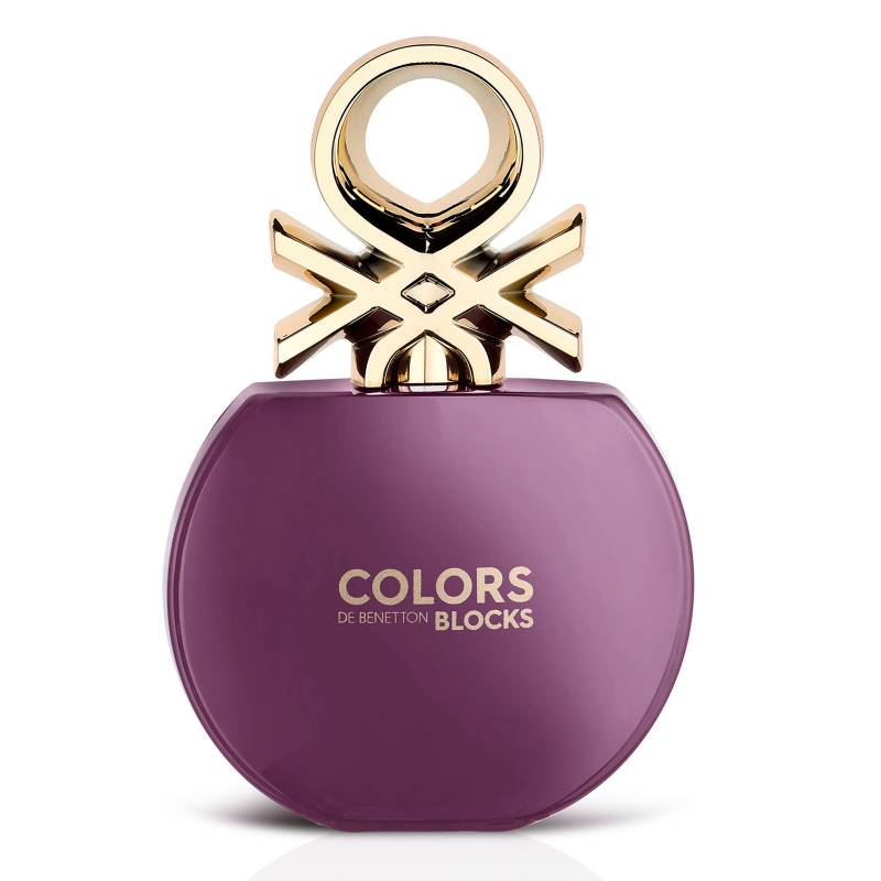 Benetton - Perfume Benneton Colors Collector Purple EDT Mujer 80 ml
