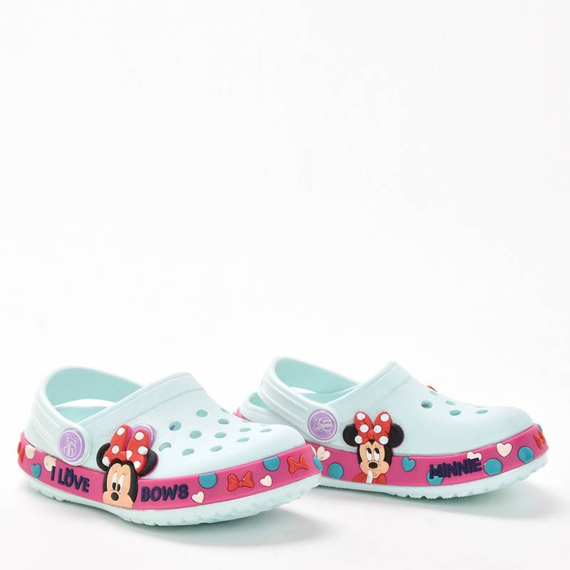 Disney - Suecos minnie turquesa